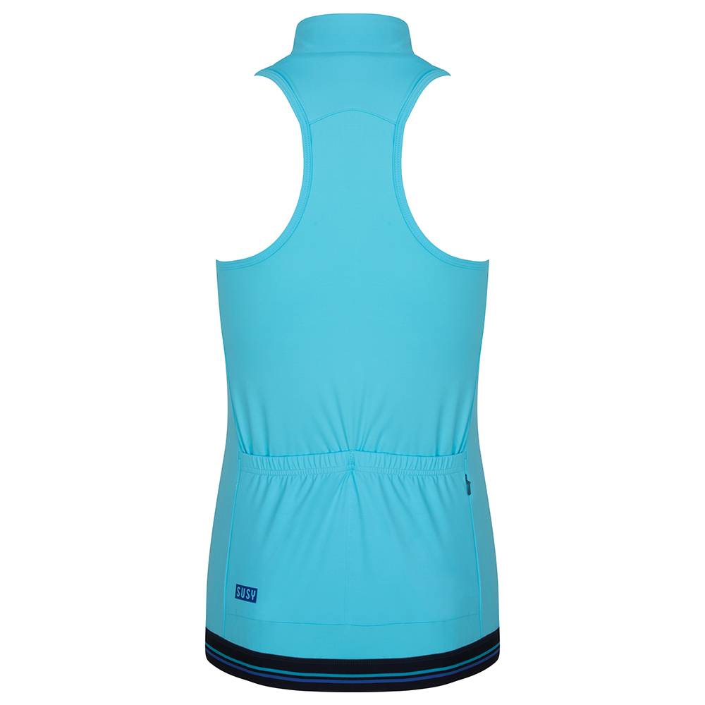 sleeveless cycling jersey