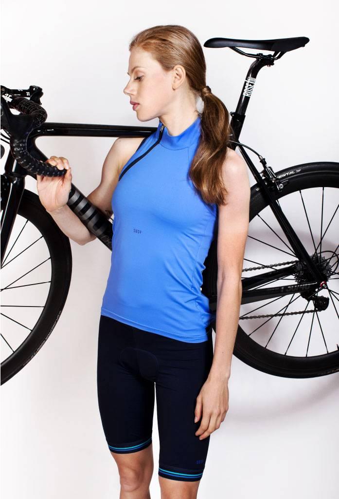 Mouwloos fietsshirt dames