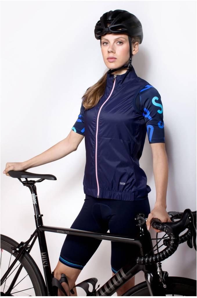 Gilet cycliste femme