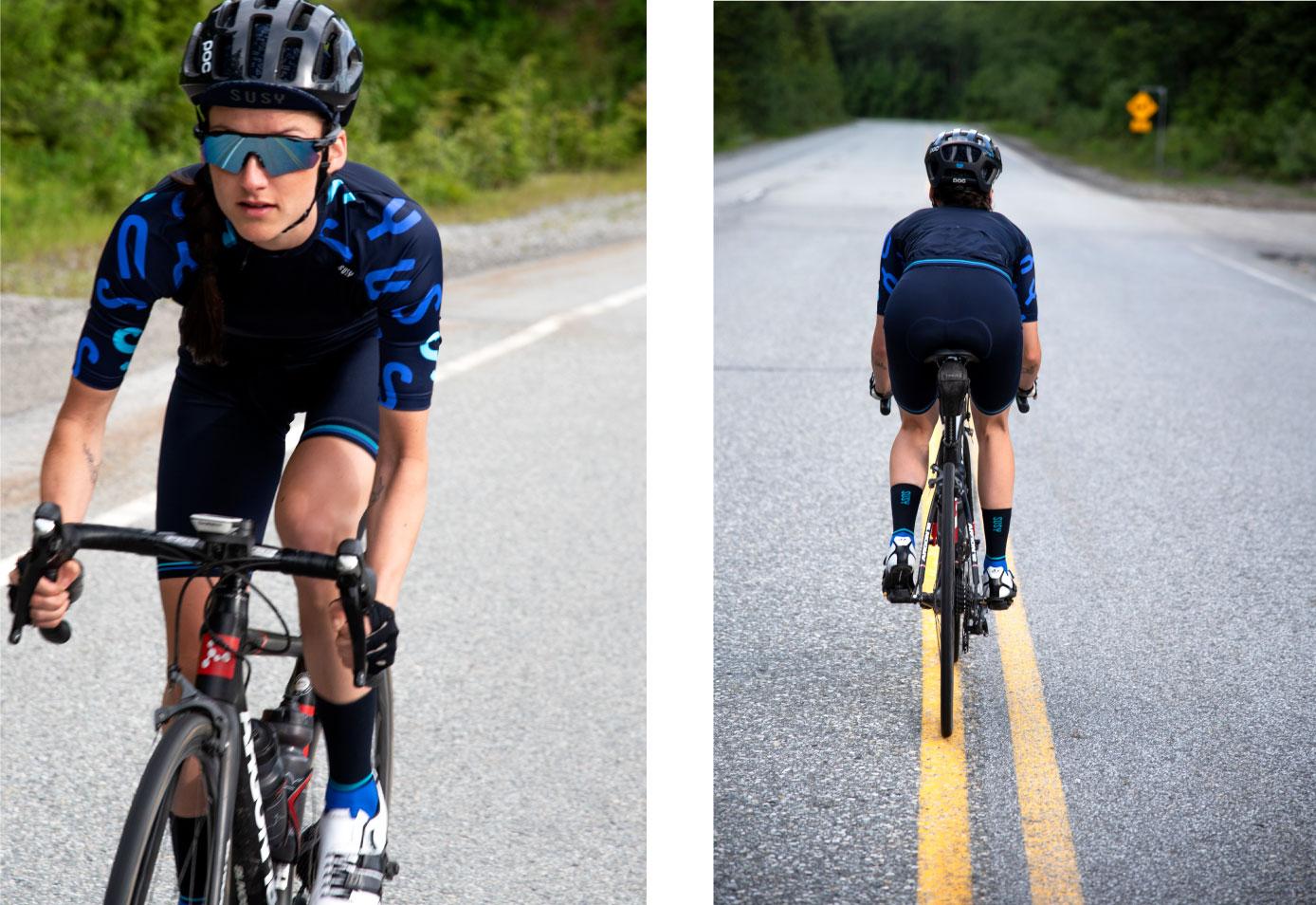 fietsshirts lange vrouw