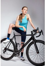 Susy Cyclewear Dames fietssokken blauw navy (hoog)