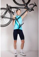 White women cycling socks