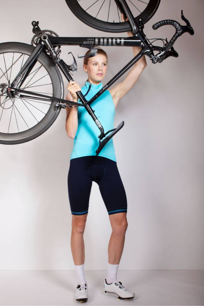 Susy Cyclewear Dames fietssokken wit van Susy cyclewear