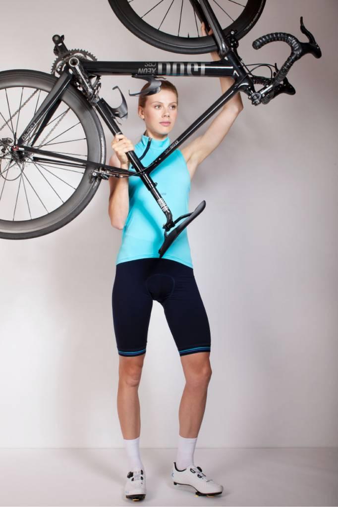 Weiße Fahrradsocken für Frauen