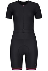 Zwart fietspakje voor dames
