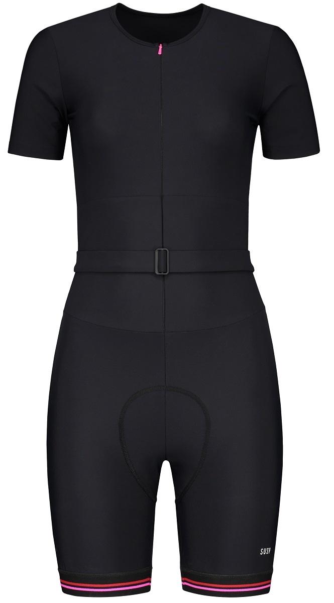 Damen Fahrradanzug - Schwarz