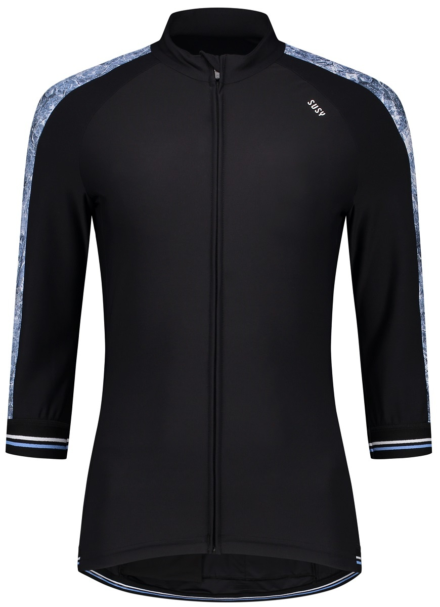 Susy cycling jersey Black