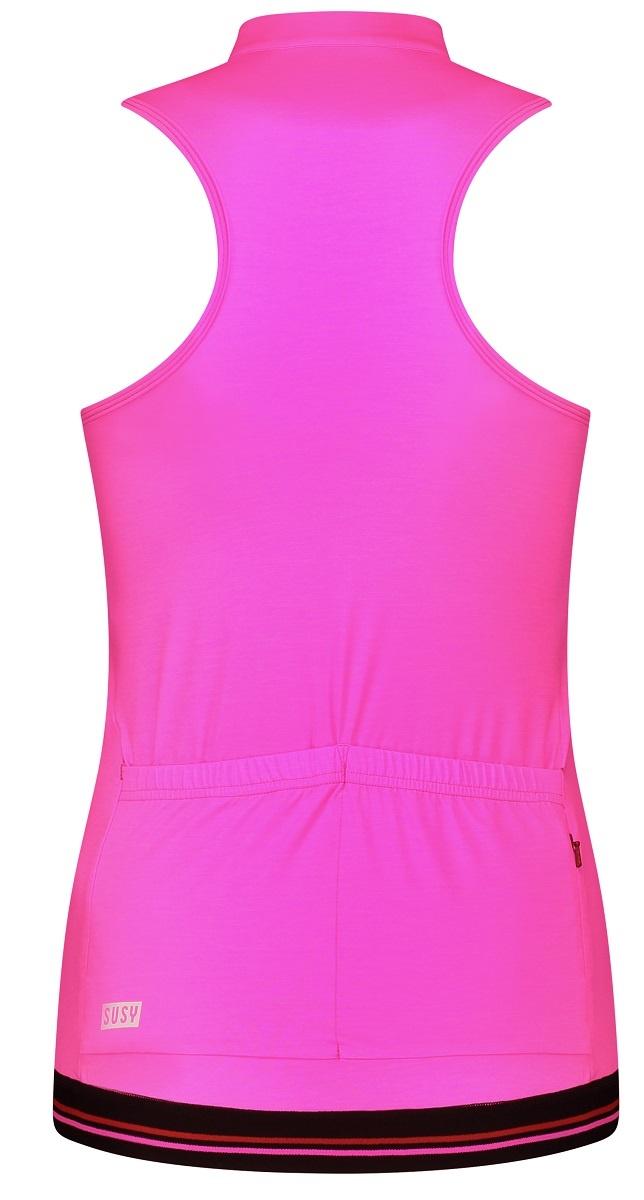 Women's Cycling Sleeveless bright pink