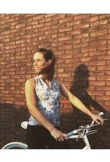 Dames fietsshirt zonder mouwen