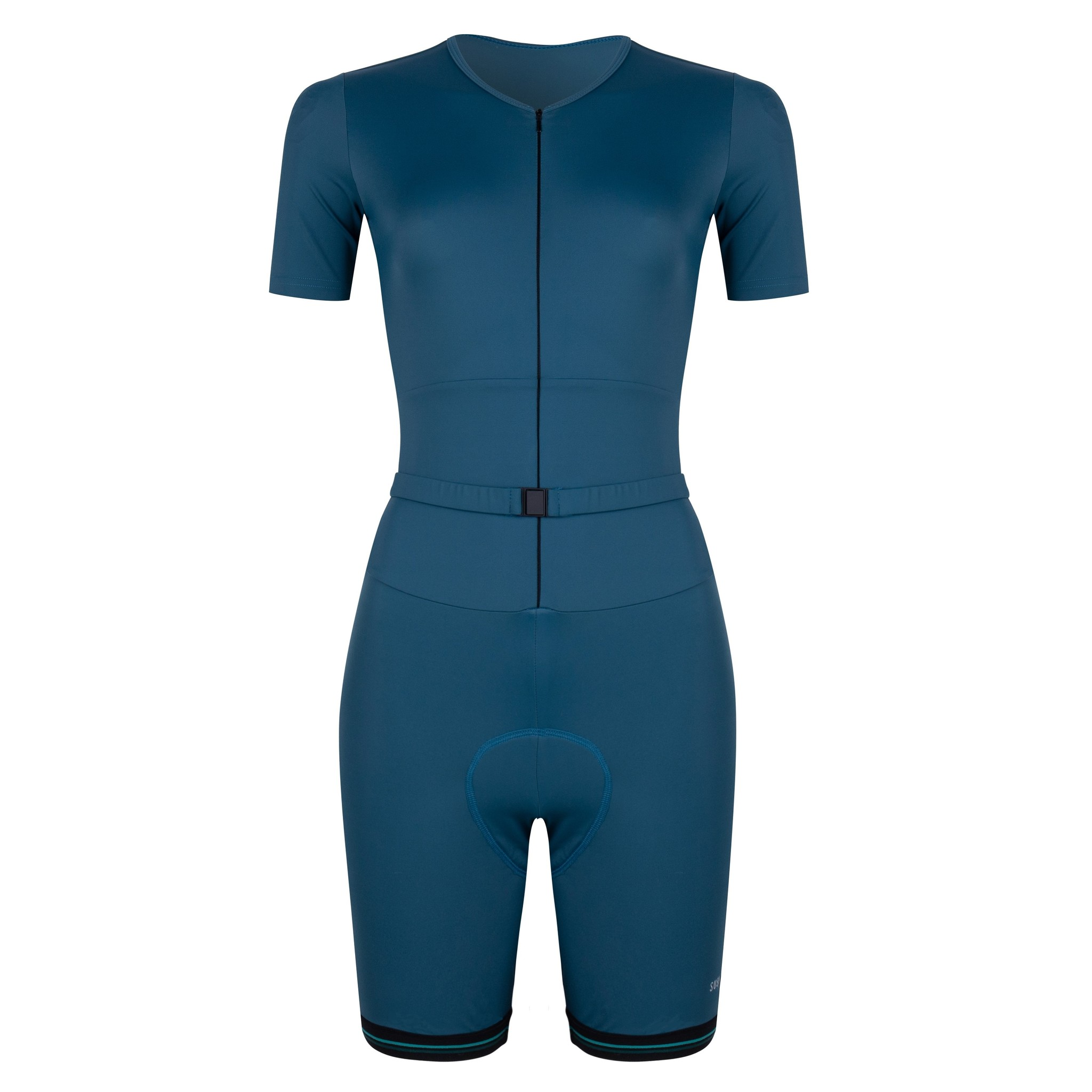 Women's cyclingsuit Jade green