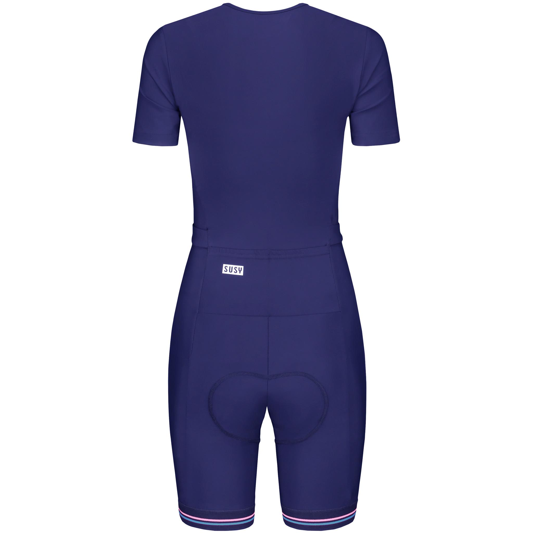 Combinaison cycliste pour la Femme - Bleu Marin