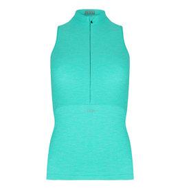 Sleeveless top Turquoise