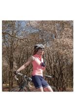 dames mouwloos fietstopje fel roze