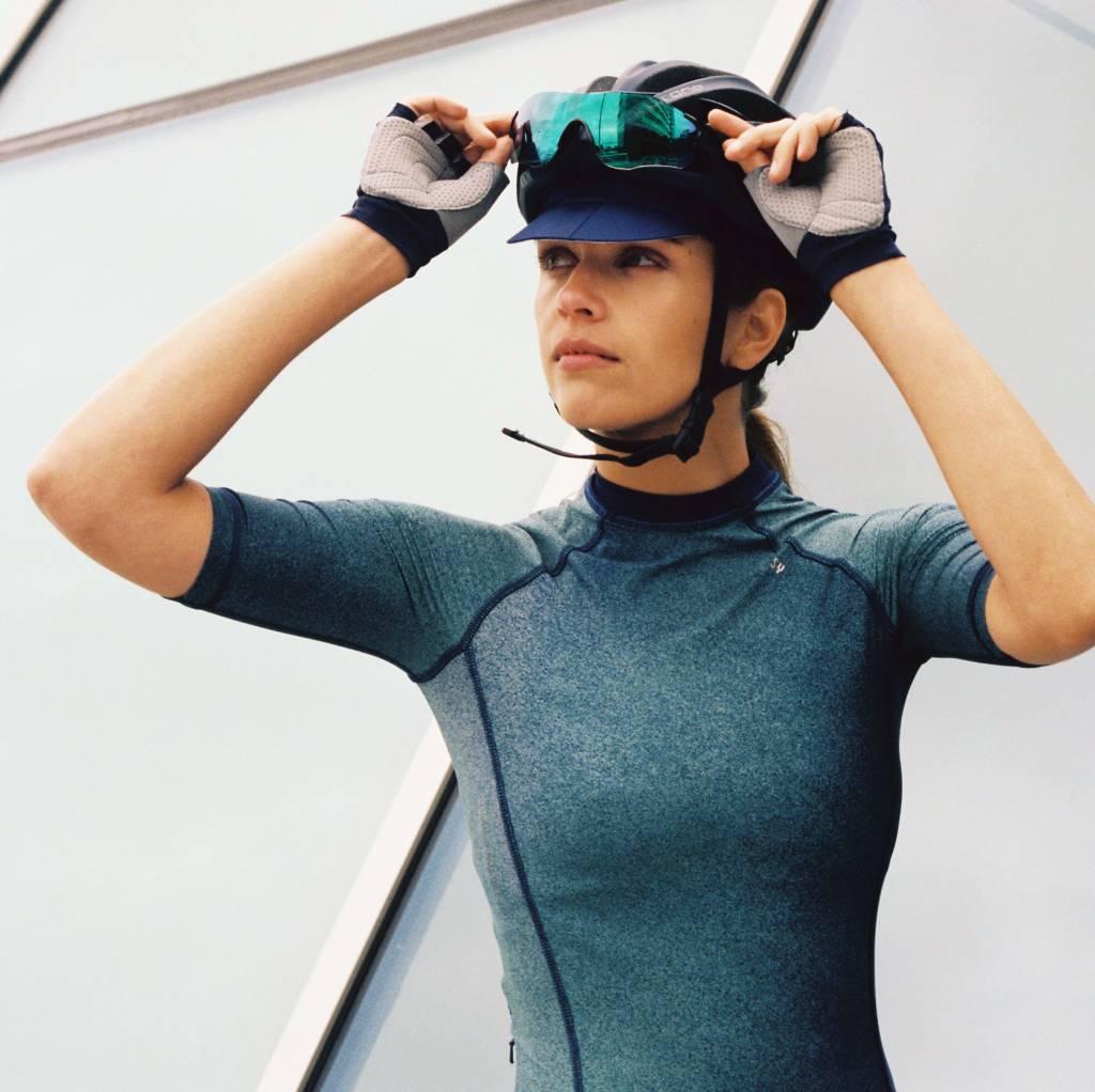 Maillot vélo manches courtes femme