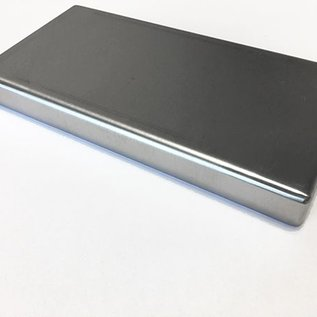 """Versandmetall Edelstahlwanne geschweißt 1,5mm h=200mm axb 600x400mm INNEN Schliff K320 mit Bügelgriffen """"Bild weicht maßlich ab"""""""