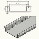 Versandmetall Caniveau de drainage Aluminium de type F seulement 25,5 mm de haut en aluminium largeur d'entrée 90 à 190 mm faible hauteur d'installation