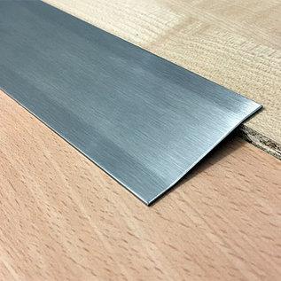 Versandmetall Ausgleichsprofil Übergangsleiste 2,0mm 1.4301 gebürstet 2-fach abgekantet