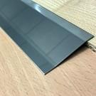 Versandmetall Ausgleichsprofil Übergangsleiste 4,5mm 1.4301 IIID spiegeloptik 2-fach abgekantet
