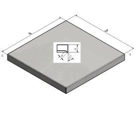 Versandmetall Couverture mur et de poteau 1,0 mm Couleur anthracite