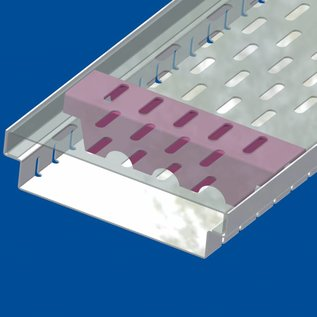 Versandmetall Verstärkung  Serie A/B 190/45 aus Edelstahl - Für Schlitzrost Einlaufbreite 190mm