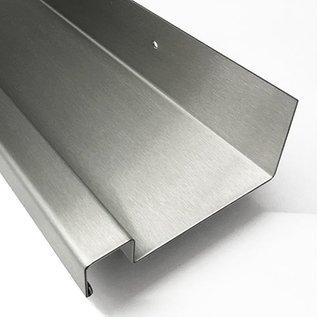Versandmetall Étagère inox en acier inoxydable étagère de cuisine en acier inoxydable robuste et noblement brossé  en grain 320.