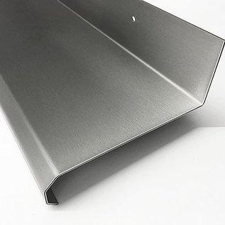 Versandmetall  keukenplank RVS gemaakt van roestvrij Staal,  stabiel en heel elegant, oppervlakke geschuurd (Korrel320)