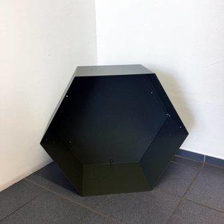 Versandmetall Einzelmodule für Kaminholzregal HEXAGON XL aus pulverbeschichtetem Stahl