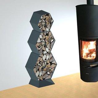 Versandmetall Piédestal, pied pour étagère pour étagère d'incendie HEXAGON XL produit en aciersurface  enduit de poudre