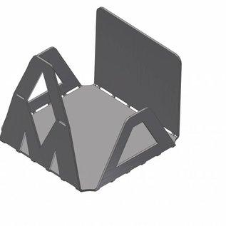 Versandmetall Schicke Geschenkidee Edelstahl Zettelbox Serie VM zum selbst biegen