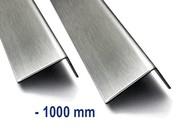 Corniere inox, Acier inoxydable jusqu'à 1000mm ( 1m ) longueur