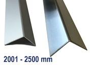 Hoekprofiel Hoeklijn Hoekstrip Aluminium tot 2500 mm (2,5 m) Lengte