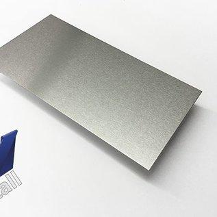 -7 Stück ( 17,5m) Alu-Blechzuschnitte Alu blank, eins Schutzfolie  1,0mm Breite 250mm, Länge 2.500mm