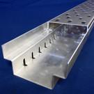 Versandmetall -Set  30m (15x2m ) Caniveau de drainage à grille en acier inoxydable  ou Aluminium  Type A  avec grille d'entrée largeur 90 à 190mm - Copy