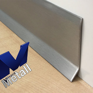 Versandmetall Plinthe 2 Plinthe Plinthe 1,0mm en bas 16mm 2x bord extérieur en acier inoxydable 320
