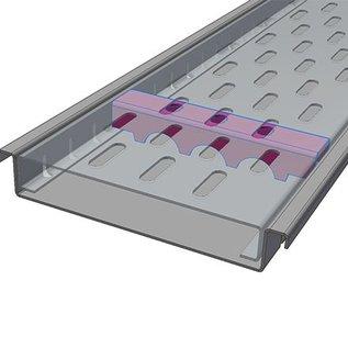 Versandmetall Wapening Series F (Fx) 140/25 van roestvrij staal - Voor sleufbreedte 140 mm