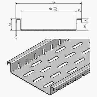 Versandmetall Vlak afvoerkanaal met bodemperforatie van aluminium inlaatbreedtes van 90 tot 190 mm Lijndrainage van oppervlakken