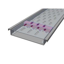 Versandmetall Verstärkung Serie F (Fx) 150/25 aus Edelstahl - Für Schlitzrost Einlaufbreite 150mm