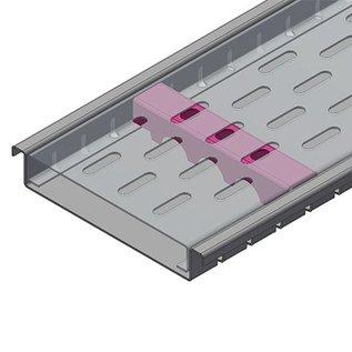 Versandmetall Renforcement Série F (Fx) 150/25 en acier inoxydable - Pour largeur d'entrée fendue 150mm