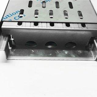 Versandmetall Renforcement Série A / B 150/45 en acier inoxydable - Pour largeur d'entrée de grille fendue 150mm