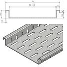 Versandmetall Sparsets Drainage Vorm Fx2 met bodemperforatie slechts 25,5 mm hoog in aluminium inlaatbreedte 150 mm