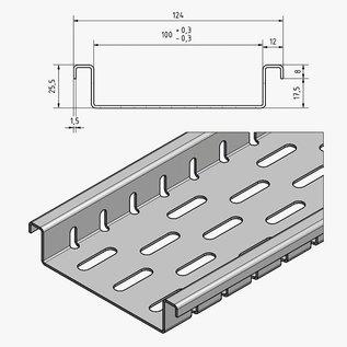 Versandmetall Platte afvoergoten met bodemperforatie Instroombreedten 100 tot 200 mm Lijndrainage van oppervlakken