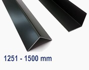 Aluminium anthracite jusqu'à 1500 mm (1,5 m) de longueur