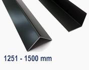 Aluminium antraciet tot 1500 mm (1,5 m) lang