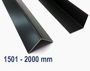 Aluminium antraciet met een maximale lengte van 2000 mm (2,0 m)