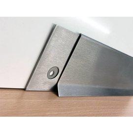 Versandmetall Support pour plinthes SLF en acier inoxydable