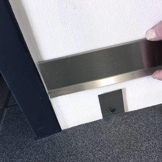 Versandmetall Houder voor plint SLF van roestvrij staal