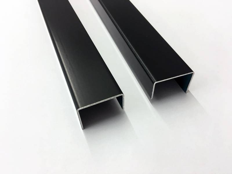 Z-Profil HG 19 Aluminium 100 x 12,7 cm