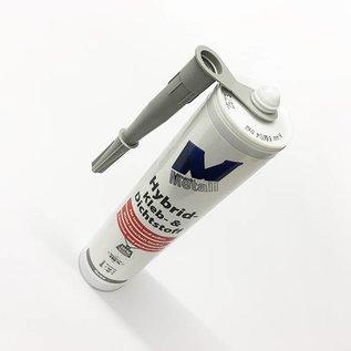 Versandmetall 8x Adhésif et mastic high-tech -290ml, gris