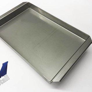 Versandmetall Bouteille en acier inoxydable R2 soudée Epaisseur du matériau 1.5mm longueur / profondeur (a) 450mm à l'extérieur du sol K320