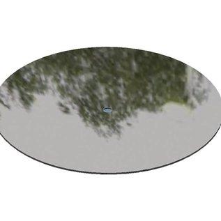 Ronde reflecterende / glanzende 2R (3D) plaatstalen blanks Materiaaldikte 1,0 mm Diameter 150 mm (15 cm)